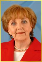 Angela Merkel Double